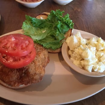 Photo Of Country Kitchen Greensboro Nc United States Pork Chop Sandwich Daily