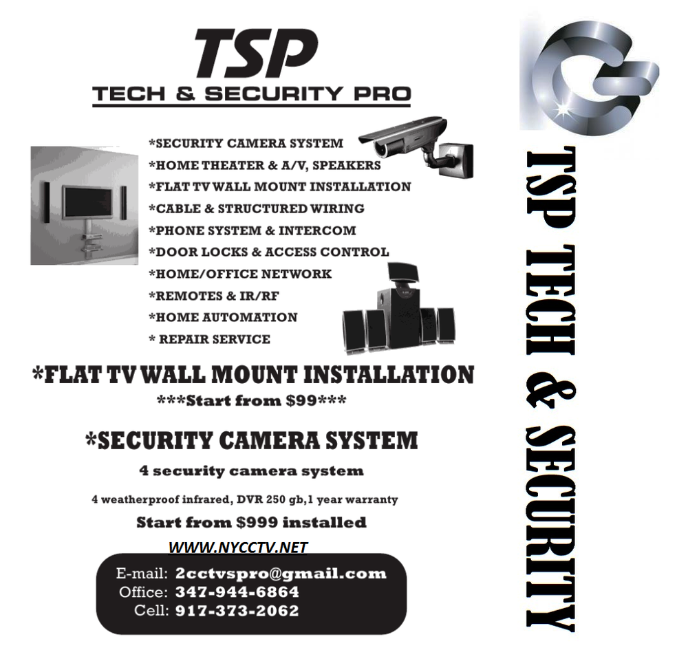Tsp Tech Security Pro Systems 1244 E 70th St Basic Structured Wiring Installation Adjacent To Panel Georgetown Brooklyn Ny Phone Number Yelp
