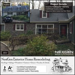 Photo Of Nexgen Exterior Home Remodeling Jenkintown Pa United States