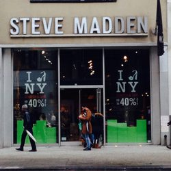 Shopping Fashion Shoe Stores · Photo of Steve Madden - New York, NY, United  States. Storefront.