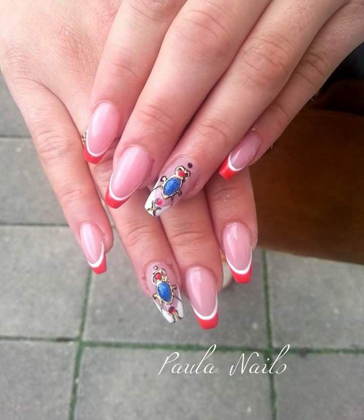 Gel nail extensions - Yelp
