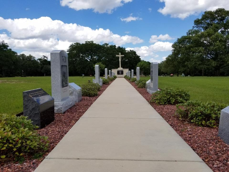Mobile Memorial Gardens Cemetery Mausoleums Funeral