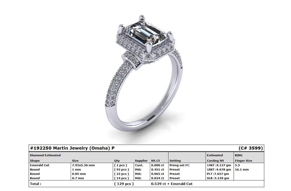 Martin Jewelry Diamond and Design center: 17838 Burke St, Omaha, NE