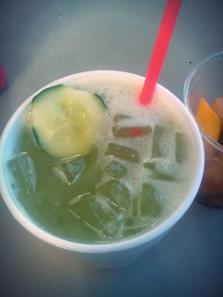 Agua De Pepino Cucumber Limeade Yelp