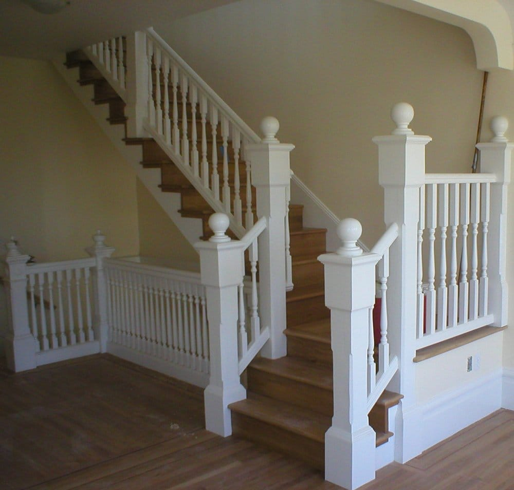 The Handrail At The Bottom Left Is Original. We Installed