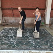A Transitional Rug From Photo Of Kush Rugs Portland Or United States Brian And Rebecca Washing