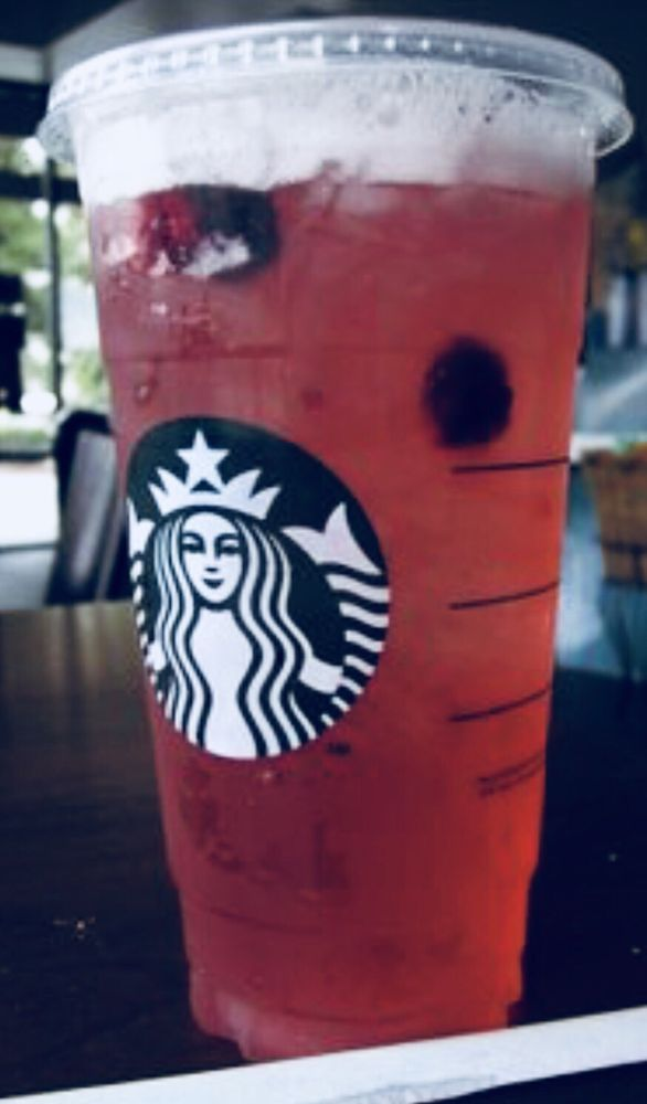 Very Berry Hibiscus Refresher Always Ask For Light Ice Always Add