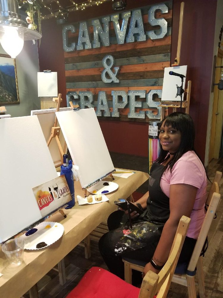 Social Spots from Canvas & Grapes Morristown