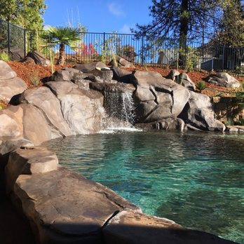 Natural Design Swimming Holes & Waterfalls - Landscaping - 12090 ...