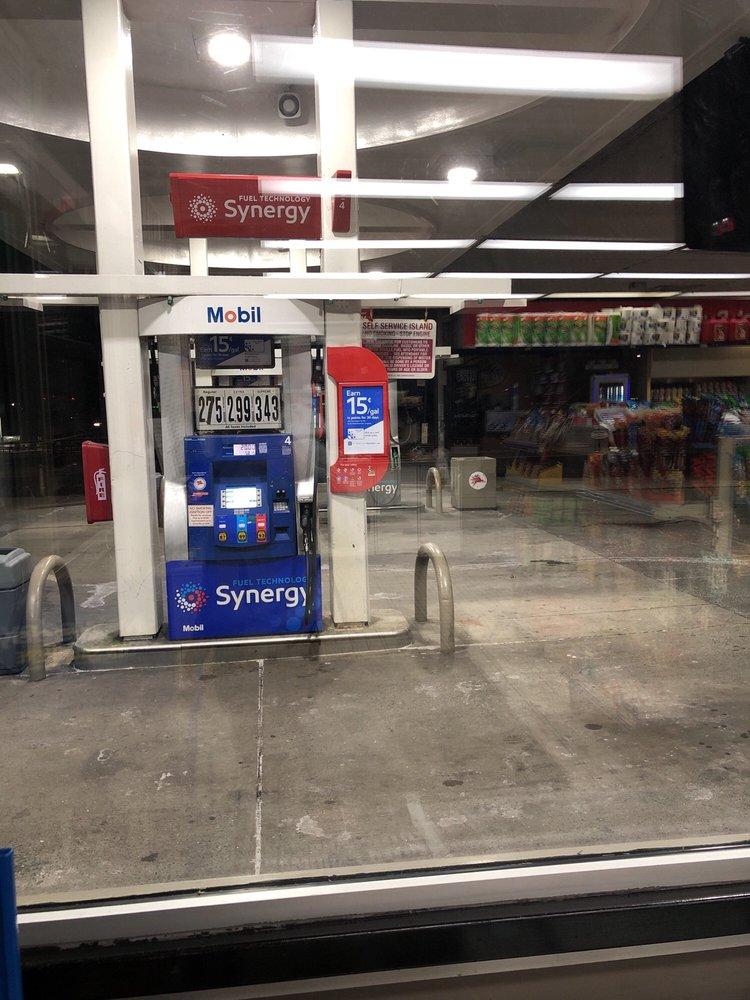 Mobil Gas Station: 154-2-154-4 Horace Harding Expy, Flushing, NY