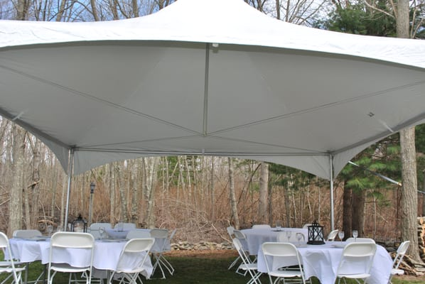 Photo For Backyard Tent Rental   Bridgewater