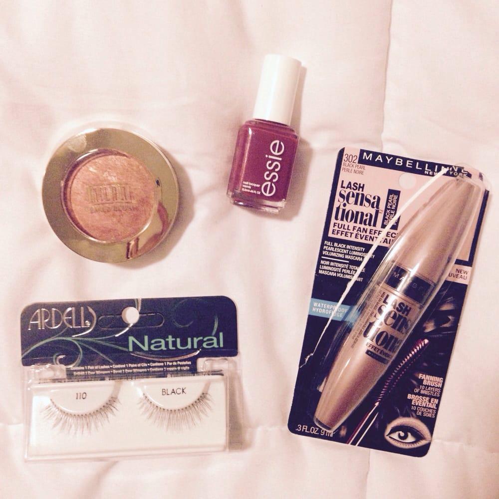 My mini makeup haul! Milani Baked Blush - $8.49 Ardel False Lashes ...
