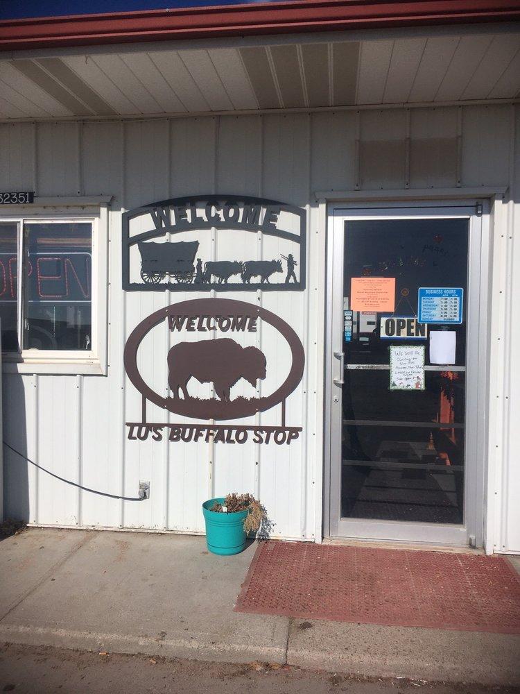 Lu's Buffalo Stop: 32351 County Road 52, Iliff, CO