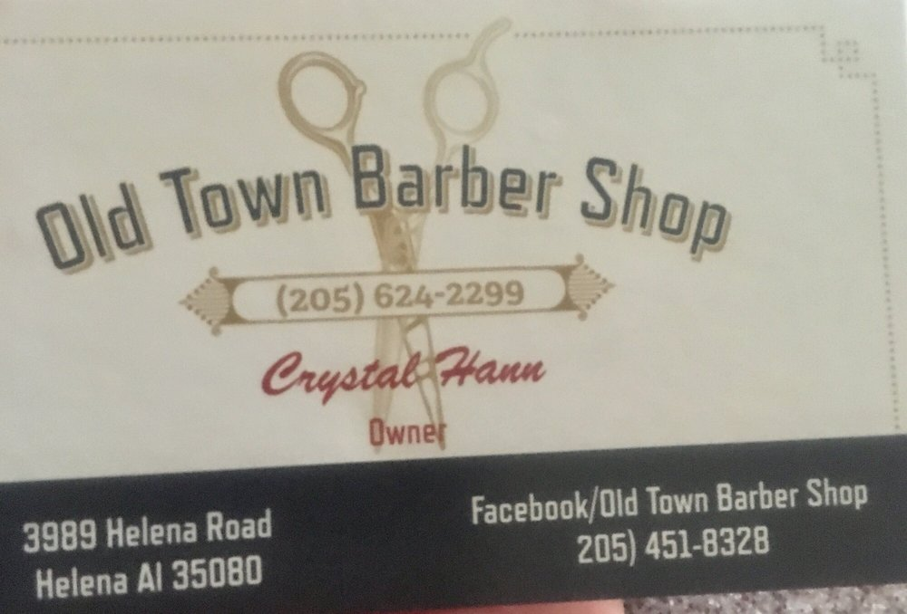 Old Town Barber Shop: 3989 Helena Rd, Helena, AL
