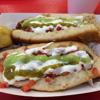 La Pasadita Hot Dogs Menu
