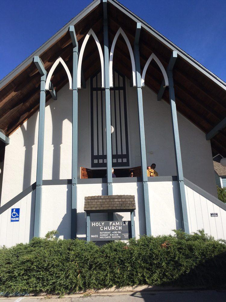 Holy Family Church: 108 Taylor Ave, Portola, CA