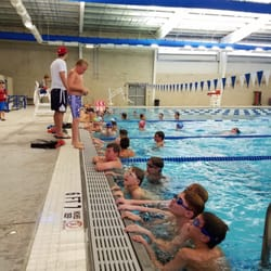 Nl aquatic center 21 photos swimming lessons schools 333 preston ave voorhees township for United township high school swimming pool