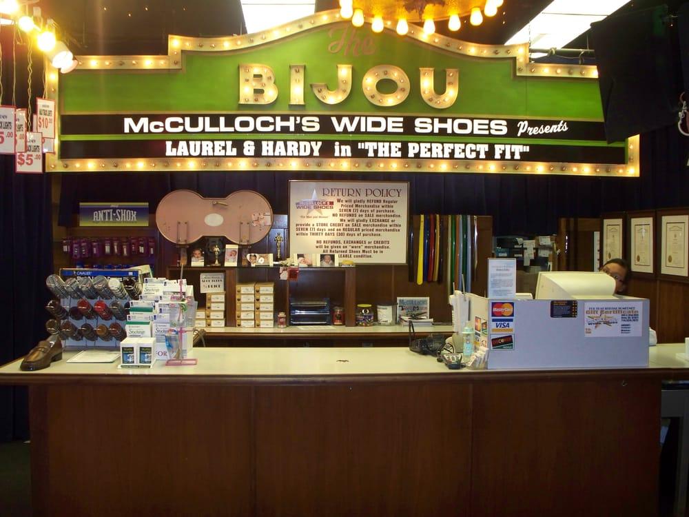 McCulloch's Wide Shoes: 685 S Brea Blvd, Brea, CA