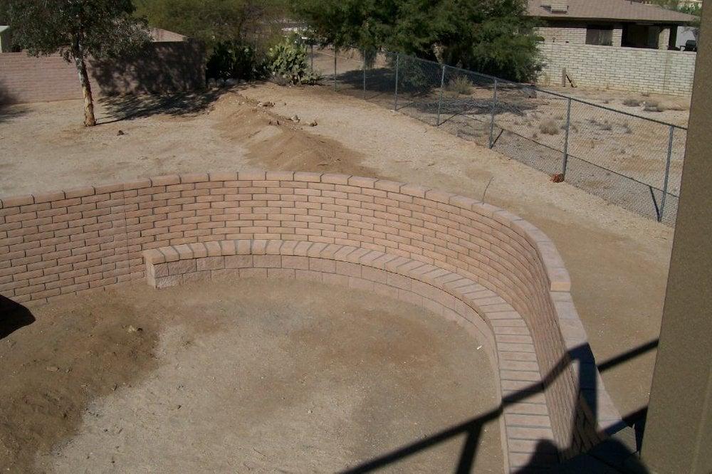 Slump Stone Brick : Old pueblo masonry builders e tanque verde rd pmb