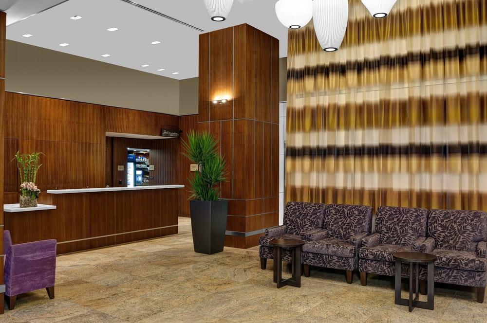 Newly built hotel with expansive lobby yelp - Hilton garden inn west 35th street ...