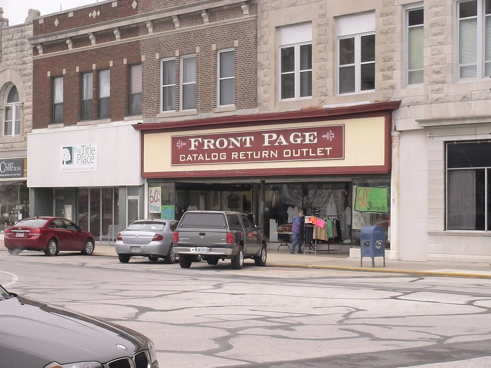 Front Page: 141 E 3rd St, Carthage, MO