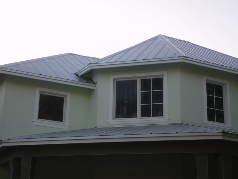 5v Metal Roof By Sunshine Roofing Of Sw Fl Inc In Naples