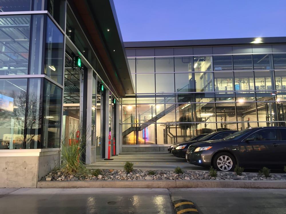 Portage Car Wash: Car Wash Entrance~