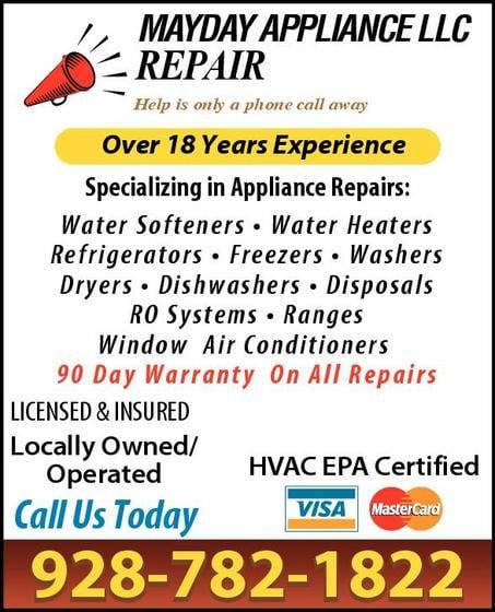 Mayday Appliance Llc: 3300 S 8th Ave, Yuma, AZ