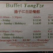 buffet yangtze 36 photos 33 avis buffets 901 64. Black Bedroom Furniture Sets. Home Design Ideas