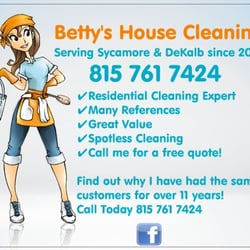 Betty's House Cleaning - Home Cleaning - Sycamore, IL