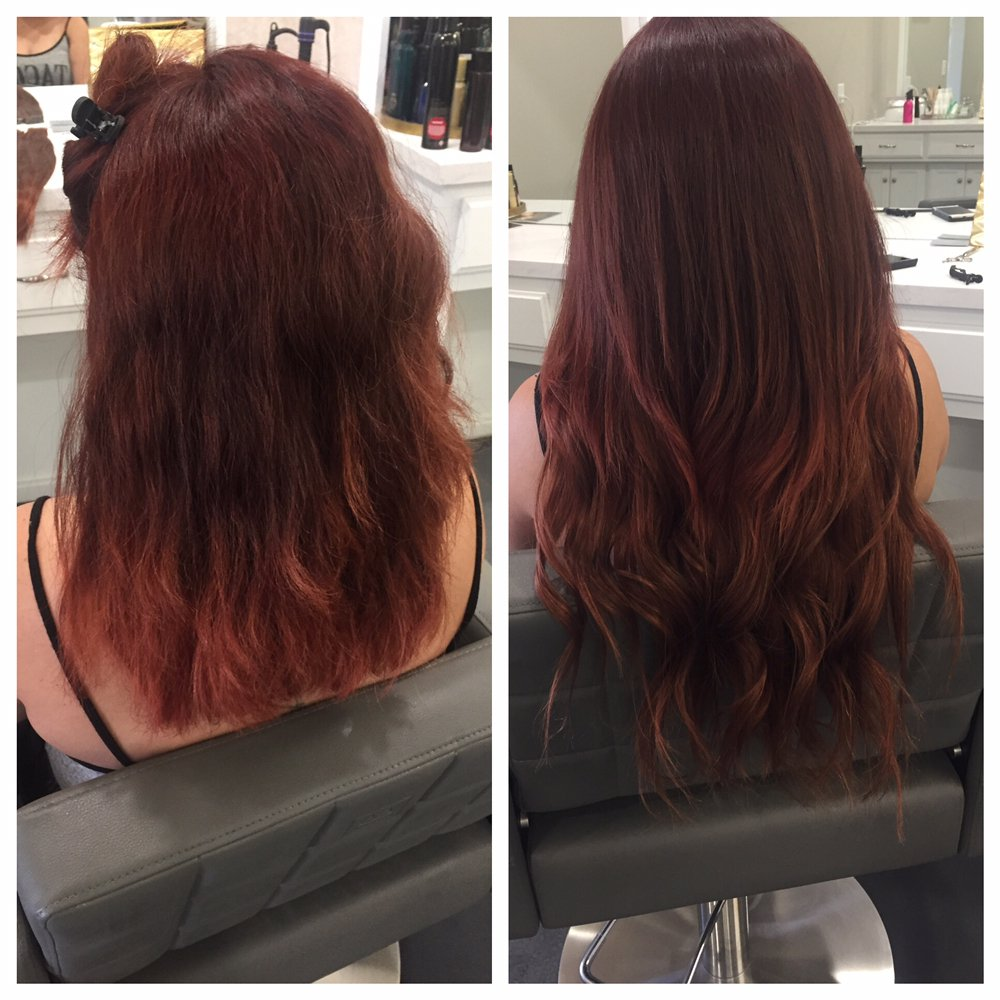 Hair Extensions We Are Certified For Great Lengths Halo