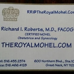The Royal Mohel Obstetricians Gynecologists 600 Northern Blvd