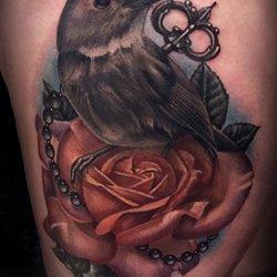 91190c0b4968b Foto zu Rebel Muse Tattoo - Lewisville, TX, Vereinigte Staaten. Tattoo by  Danny