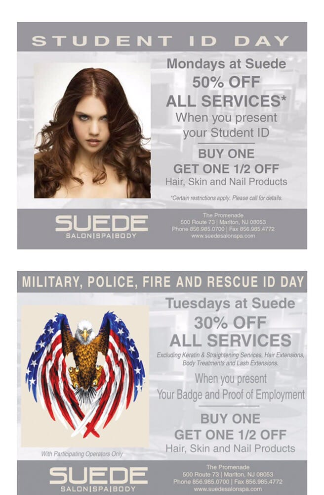 Suede Salon Spa and Body: 500 Rt 73, Marlton, NJ