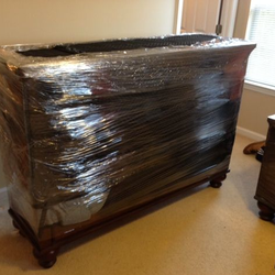 Beautiful Photo Of Powerhouse Moving Concepts   Mckinney, TX, United States. Furniture  Shrink Wrapped