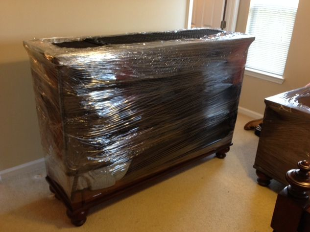 Photo Of Powerhouse Moving Concepts   Mckinney, TX, United States. Furniture  Shrink Wrapped