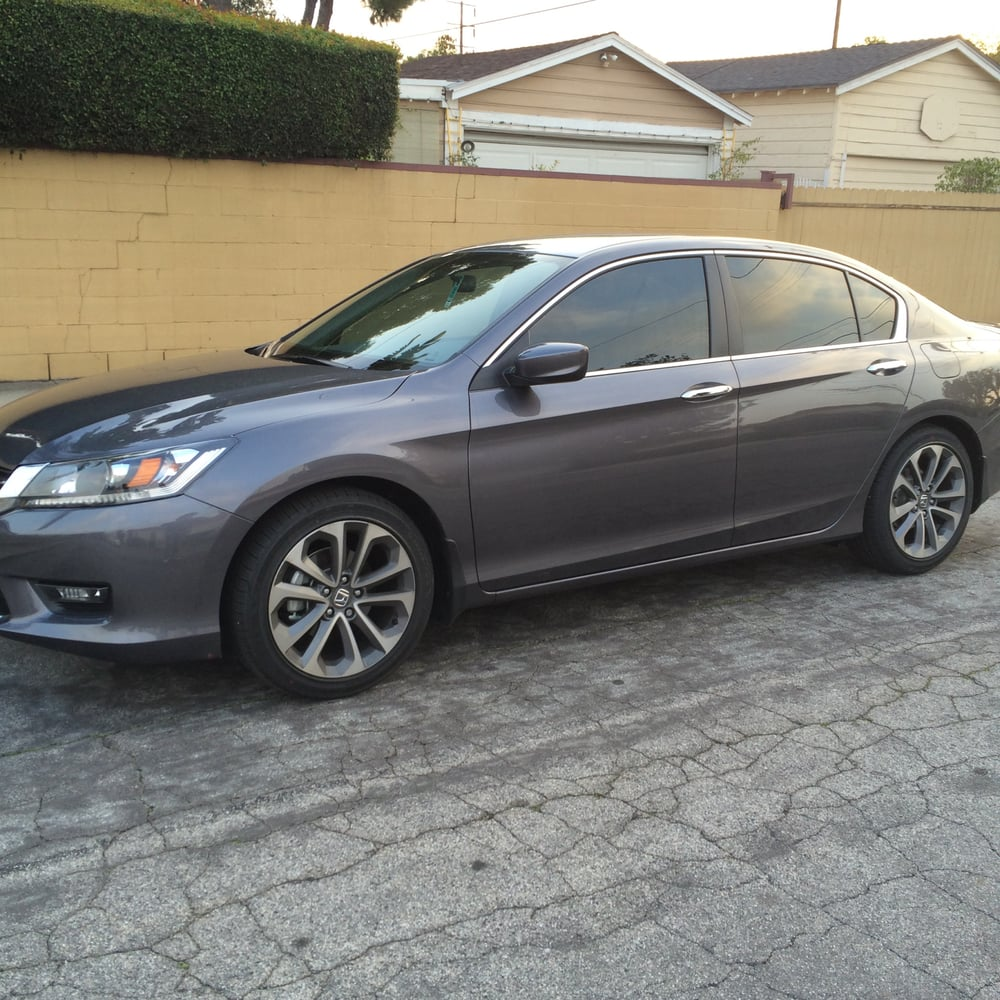 Honda Accord 2015 Pictures: G5's Awesome Tint Job On My 2015 Honda Accord Sports Sedan
