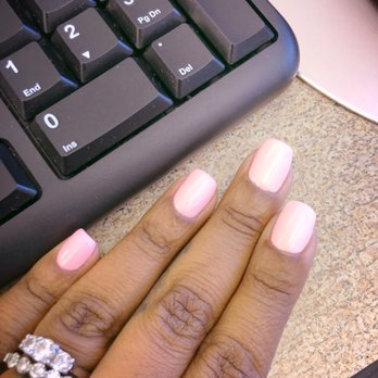 Photo Of The Nail Lounge Charlotte Nc United States Gel Manicure At