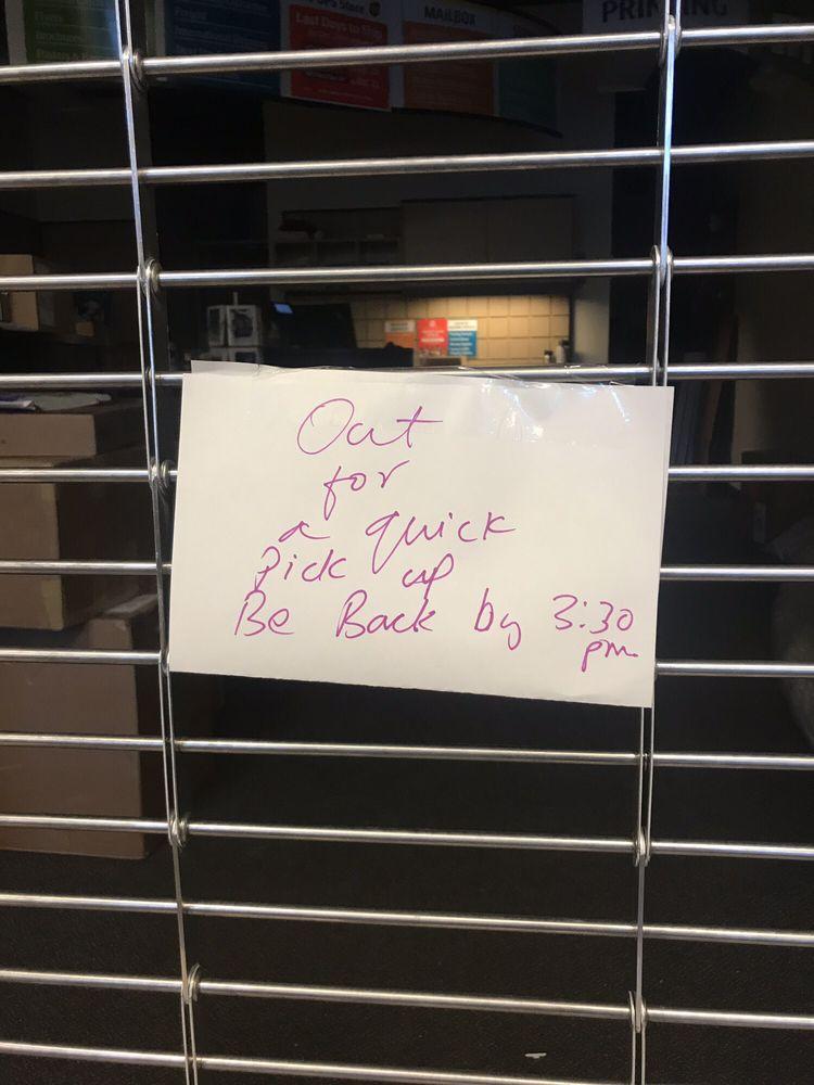 Le magasin UPS