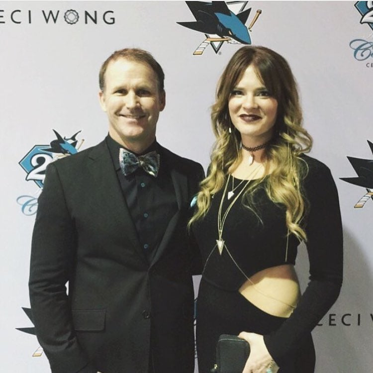 separation shoes 3f6a9 2888d Jamie baker and his beautiful wife at the 25th anniversary ...
