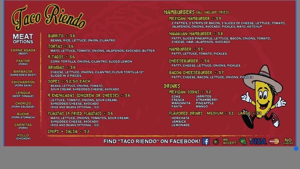 Taco Riendo: 1103 Vine St, Hays, KS