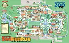 Brookfield Zoo Run Run 3300 Golf Rd Brookfield IL Zoos MapQuest
