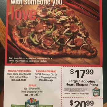 Round Table Pizza - 27 Photos & 87 Reviews - Pizza - 16761 ...