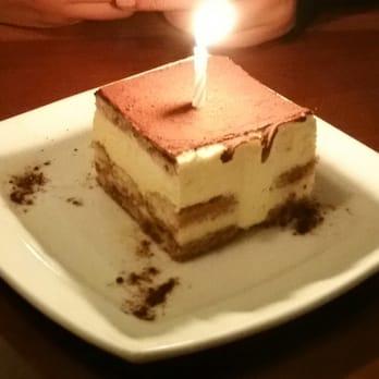 Amazing Photo Of Olive Garden Italian Restaurant   Tracy, CA, United States.  Birthday Dessert