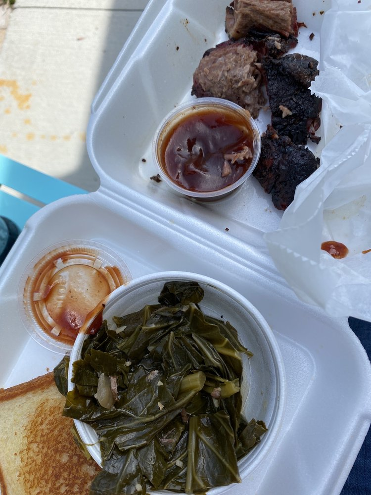 Food from Brisky's Family style BBQ