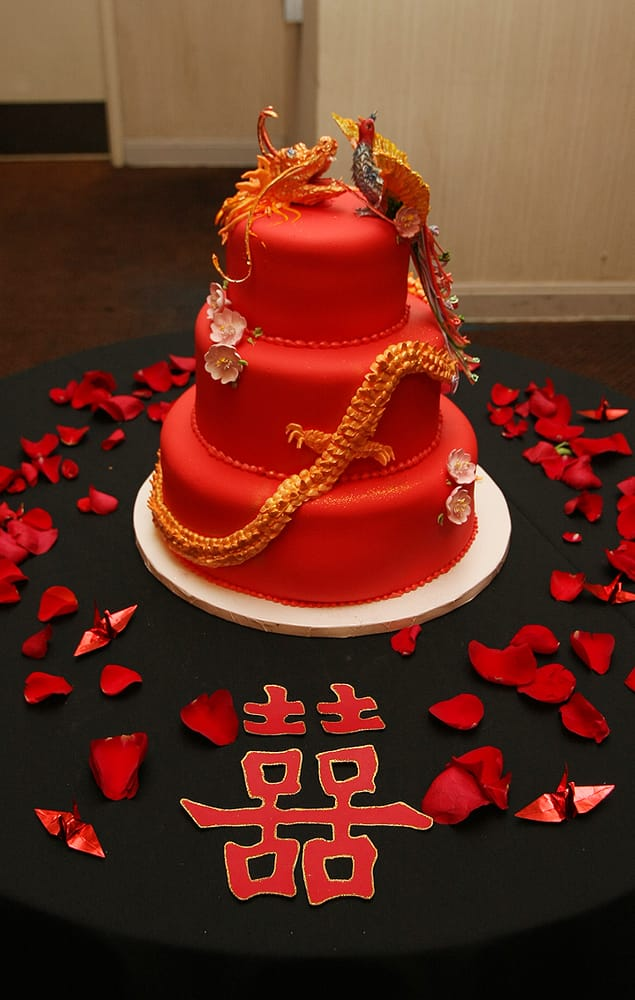 chinese wedding cake recipe 3 tier wedding cake amp with cherry blossoms 12665