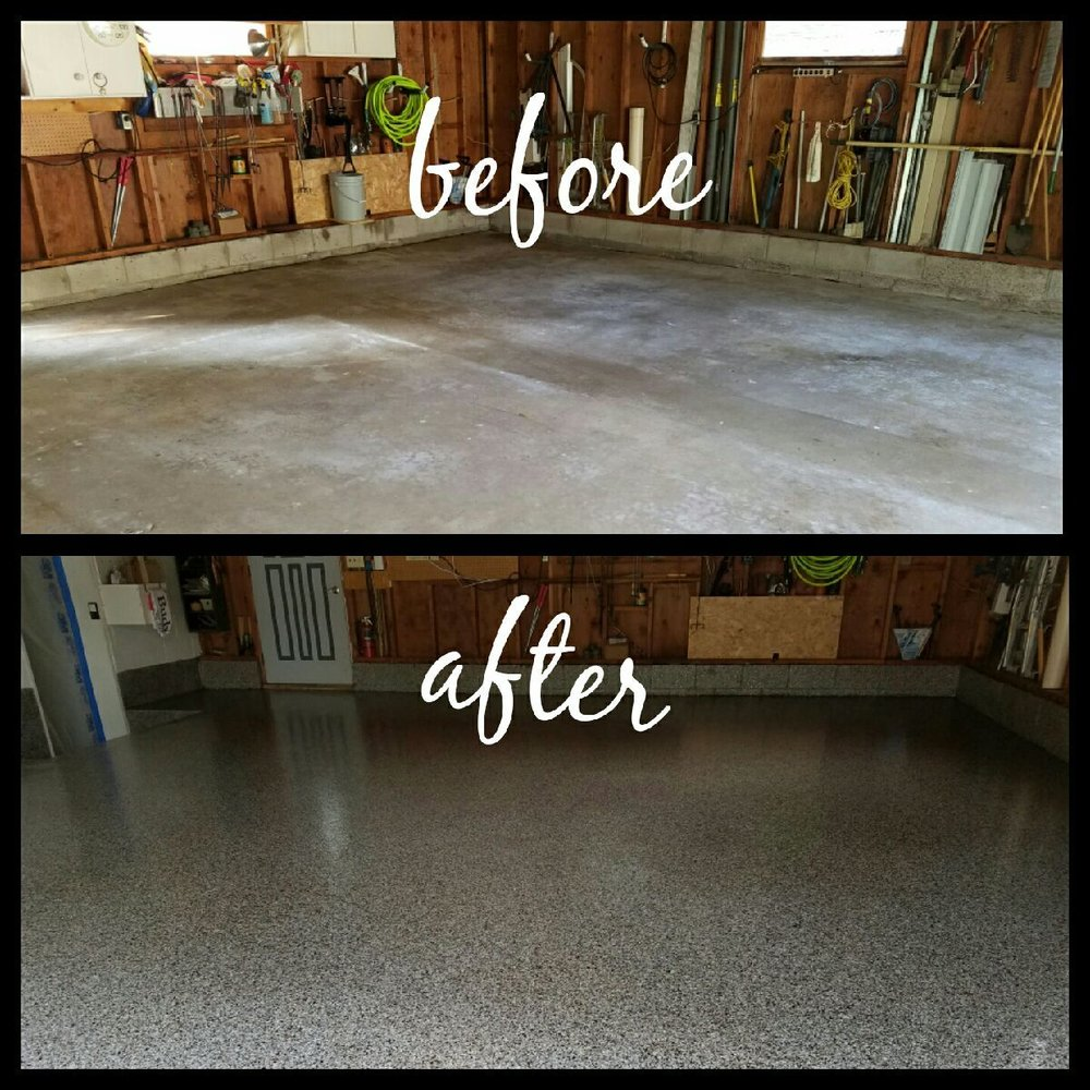 Garage Floors Paint: Garage Floor Coating Of MN
