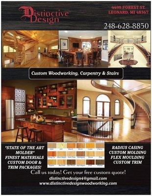 Distinctive Design  Cabinetry  4495 Forest St Leonard MI