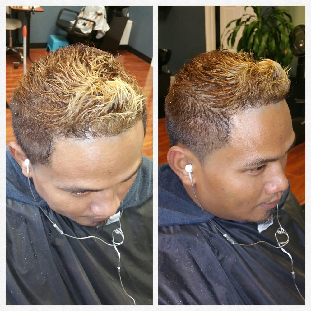 Fashion Men Tip High Lights And Hair Cut Yelp