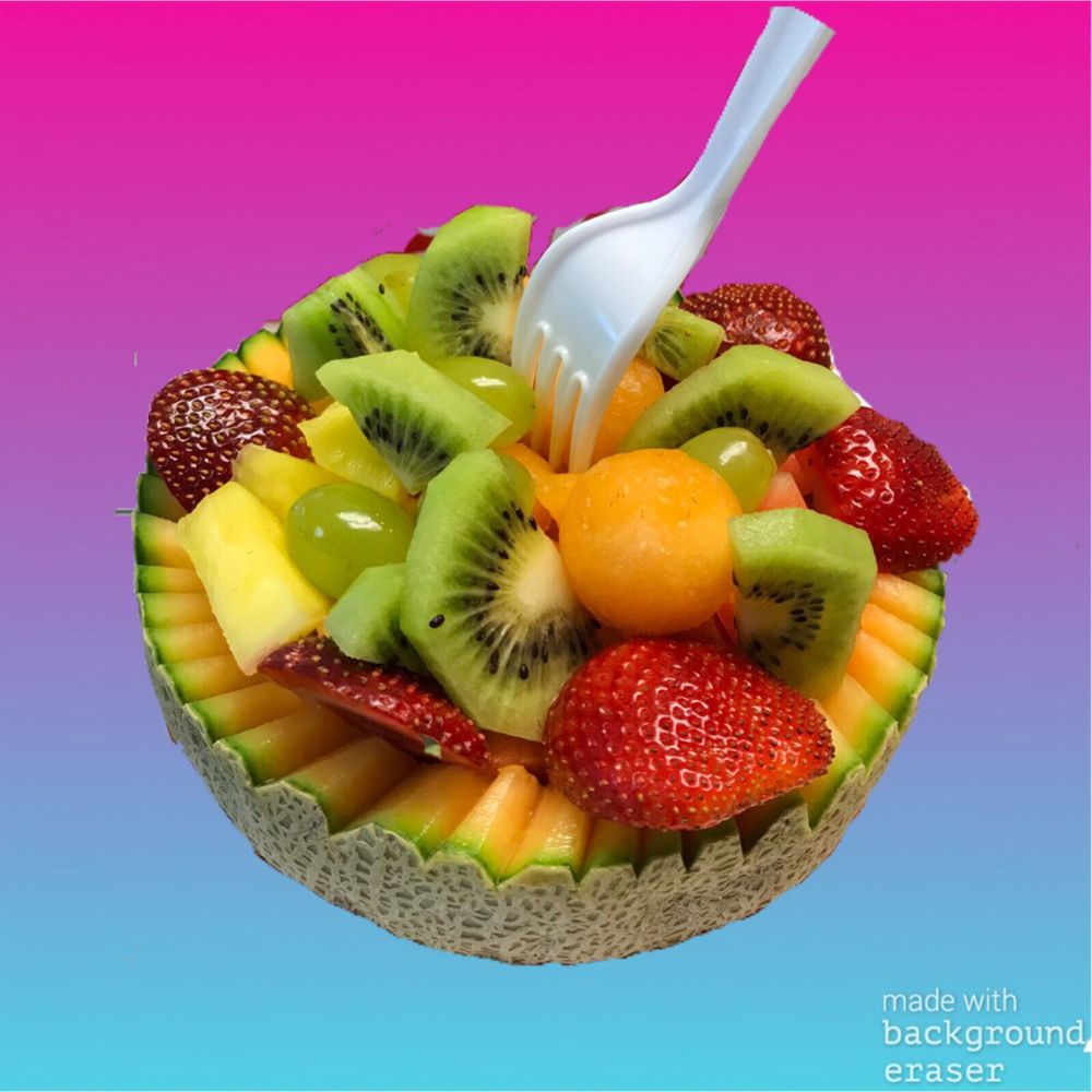 Food from Mejia's  Crazy Fruit